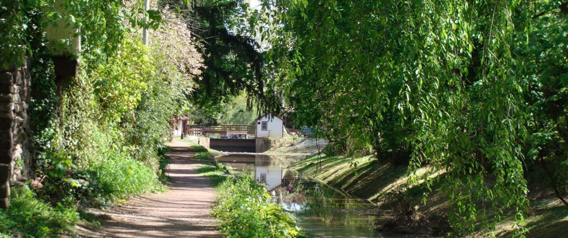 Canal and Towpath Near GAIA Guest House
